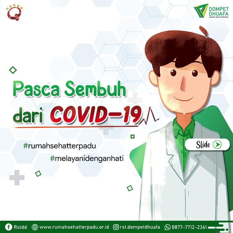 Syarat Seseorang Dinyatakan Sembuh COVID-19